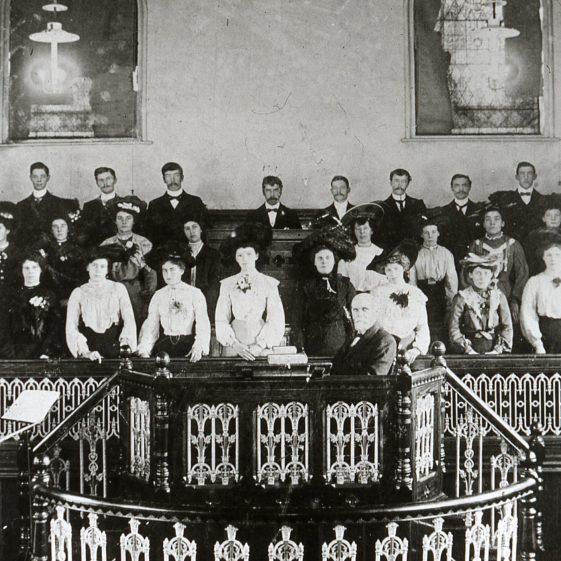 Methodist Church choir - 1910's | Cat no Slides B 3.52