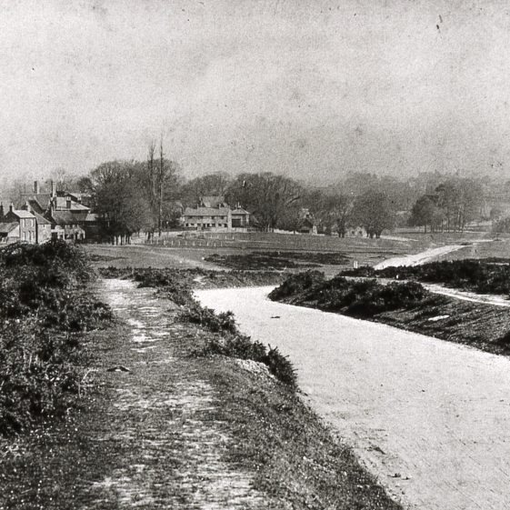 The Common - St Albans Road looking north - 1900 | Cat no Slides B 3.62