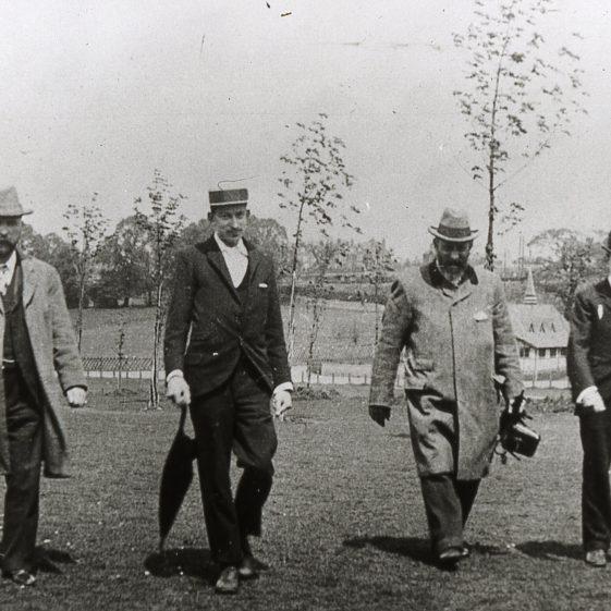 Course officials 1890's | Cat no B 3.72