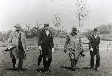 The officials walking the course   LHS archives, cat.no B 3.72