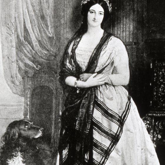 Lady Caroline Lawes, wife of Sir John Bennet Lawes - 1850 | Cat no Slides B 3.75