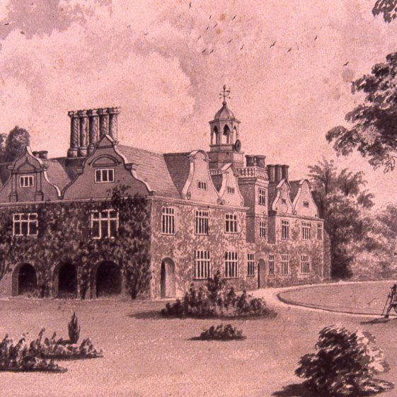 Rothamsted Manor - 1880's by Lady Caroline Lawes | Cat no Slides B 3.76