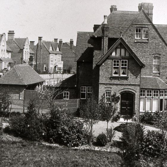 Park View House, Milton Road - 1890's (now demolished) | Cat no Slides B 3.98