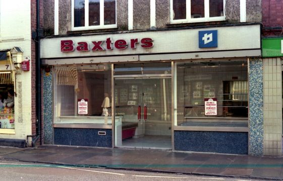 Shops which closed in 1985