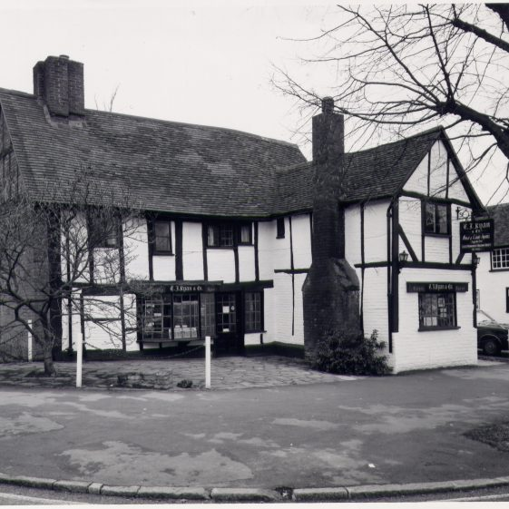 71-73 High Street in 1975   LHS archives - copyright RCHM