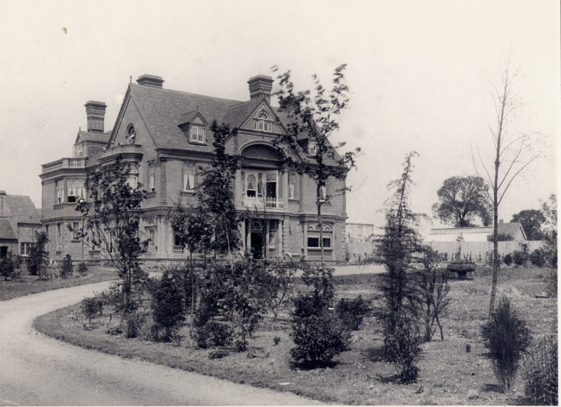 The Red House, soon after it was built in 1892 | Frederick Thurston - copy in LHS archives, cat.no 000385