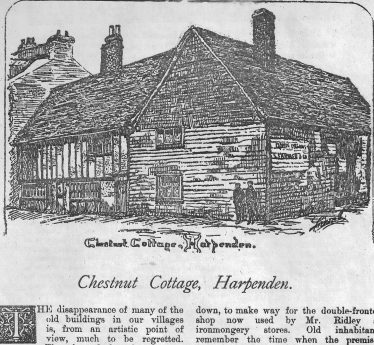 Illustration for article in Hertfordshire Illustrated Review, vol. 2 1894 | Photocopy in LHS archives, Misc.A