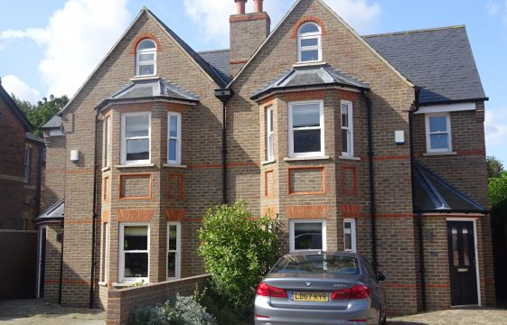 Parkview Estate - Cowper Road - south side, odd numbers