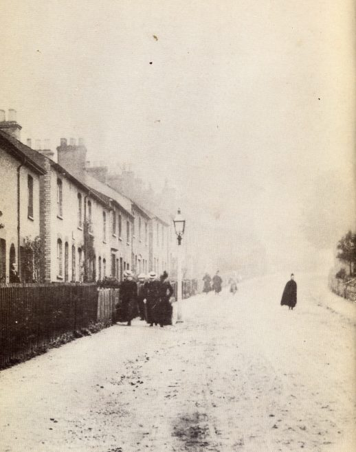 Lower Cravells Road, 1890 | LHS collection, included in Bygone Harpenden