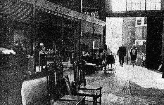 Shops, shopkeepers and traders