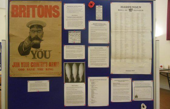 Harpenden in the Great War