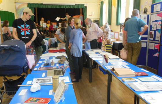 St Nicholas School History Exhibition - Saturday, 12 July 2014