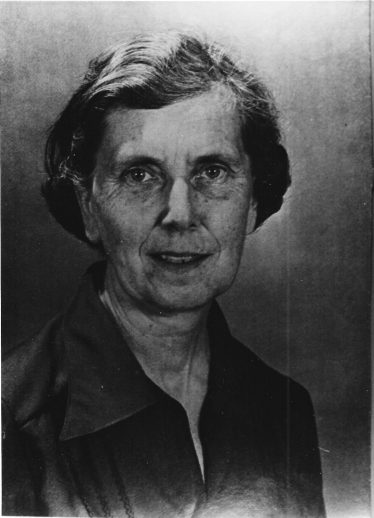 Dr Joan F Moore, President of the British Mycological Society | LHS archives - 4105 - copy of photo loaned by the Harpenden Society