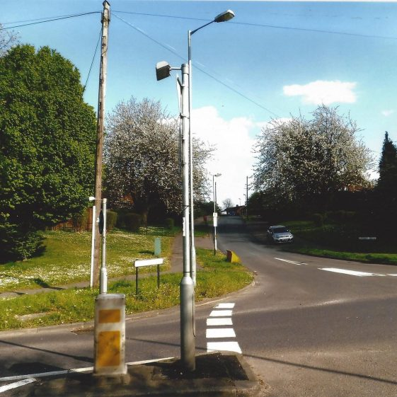 103. Langley Grove climbs gently to the east, from Sandridge High Street at Grid ref. 171107 | L F Casey, 2014
