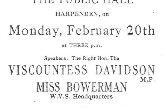 Harpenden's Evacuation Scheme - WWII