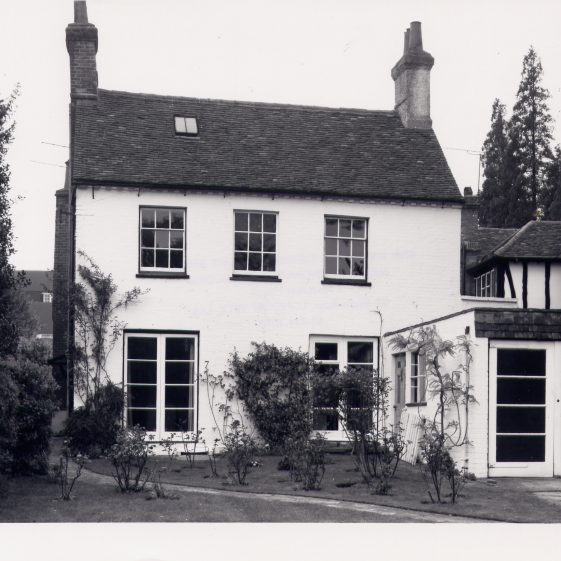 Church Farm Cottage, 7 Leyton Green (note the middle window upstairs is blank). | Royal Commission for Historical Monuments, 1976