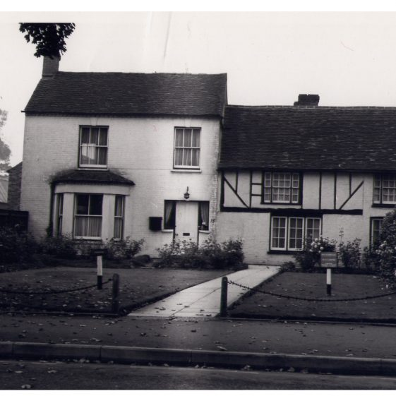 Yew Tree Farm (15 Leyton Road) - c 1980, when it was a surgery for Drs Garrard, ... | LHS collection, LHS 000984
