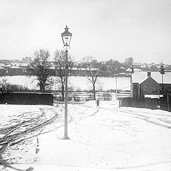 View from 30 Batford Road, across the valley to Marquis Lane, 1930s   Di Castle's family albums