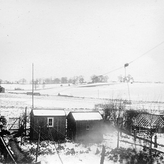 View from back of 30 Batford Road, towards Mackerye End   Di Castle's family albums