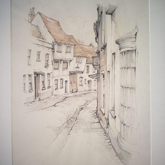 Fishpool Street, St Albans | Anton Pieck - Copyright of the Pieck family