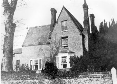 Dr Gilbert's house, West Common, c. 1900 | Rothamsted archives