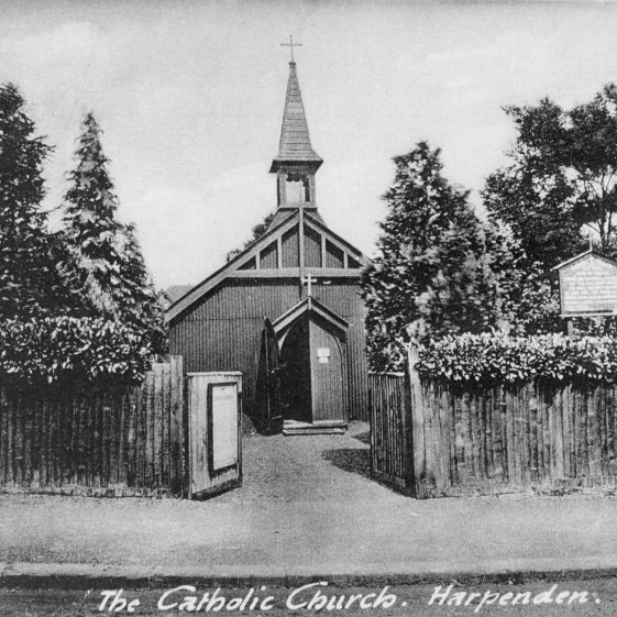 First Catholic Church in Rothamsted Avenue | Cat no HC 005