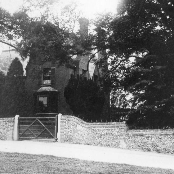 Dr Gilbert's House, No 1 West Common - The original Director's House for Rothamsted Experimental Station.  Dr Gilbert was employed by John Bennet Lawes as a chemist in 1843, from when began the partnership and the foundation of Rothamsted Experiments. | Cat no HC 036