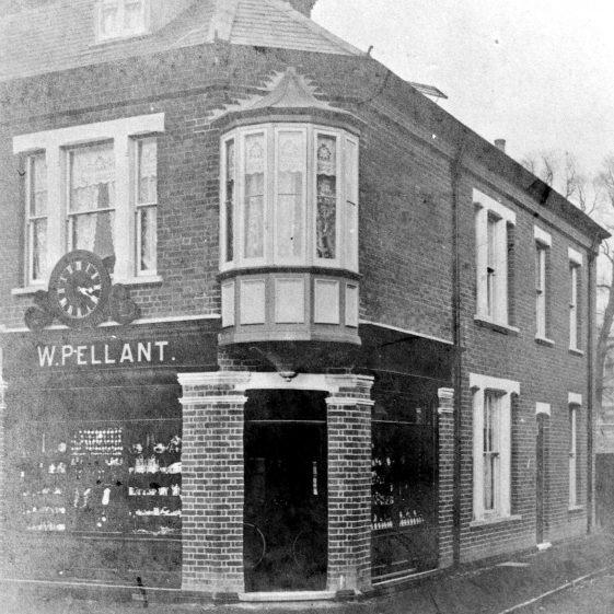 Pellant's corner - High Street/Vaughan Road - 1910 | Cat no HC 048