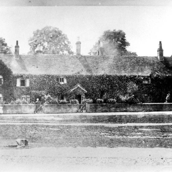 Batchelors Row, Church Green - 1900 | Cat no HC 60