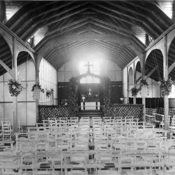 Interior of St John's Church - corner of Crabtree Lane - 1900 | Cat no HC 067
