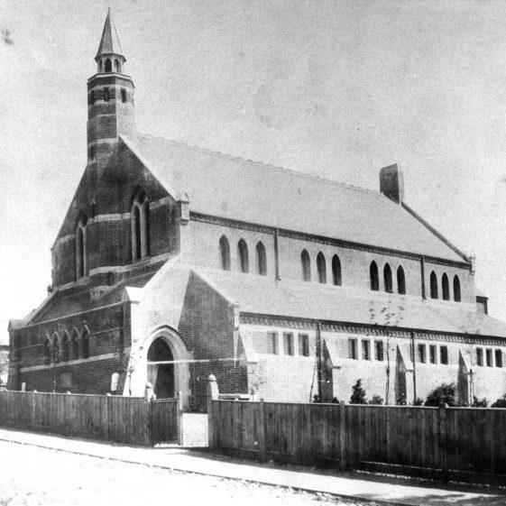 Congregational Church from Vaughan Road - 1897 | Cat no HC 102