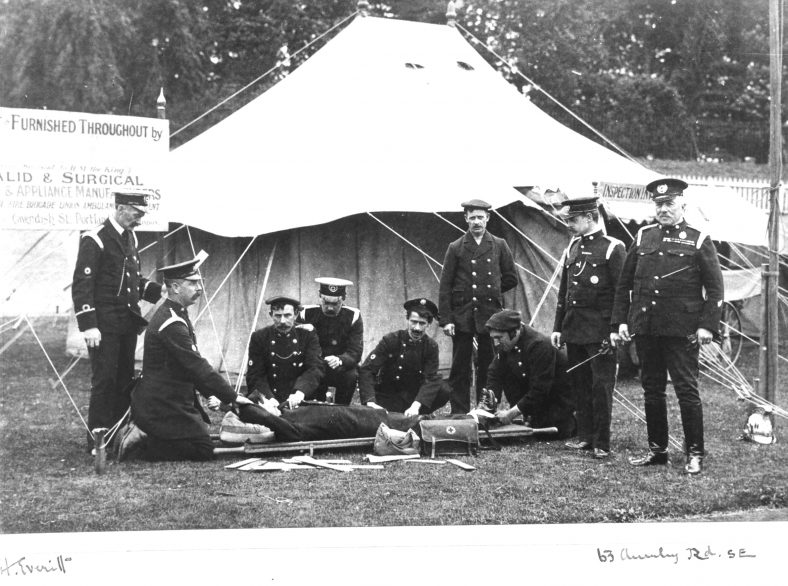 4. Fire Brigade First Aid team | Cat no HC 110