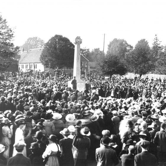Dedication of War Memorial - Oct 1920 | Cat no HC138