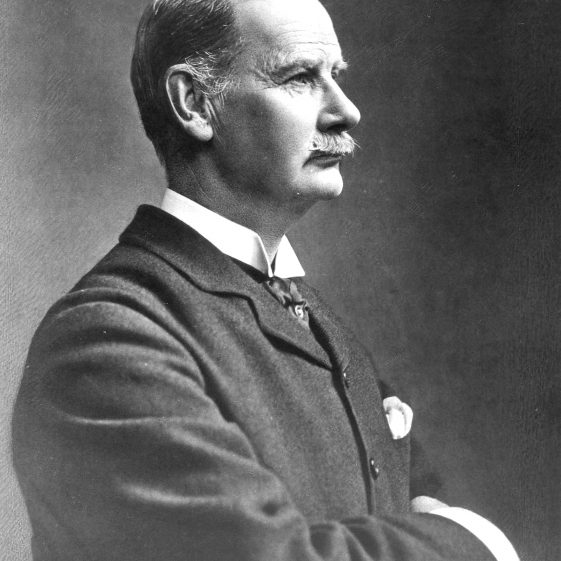 Captain Arthur Lydekker in 1898 First Chairman of Harpenden Urban District Council | Cat no HC 141