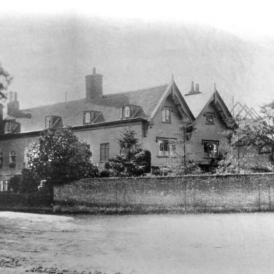 Mr Lockhart's house, Church Green, 1890s - redeveloped as post office and shops c.1905 | Cat no HC 161