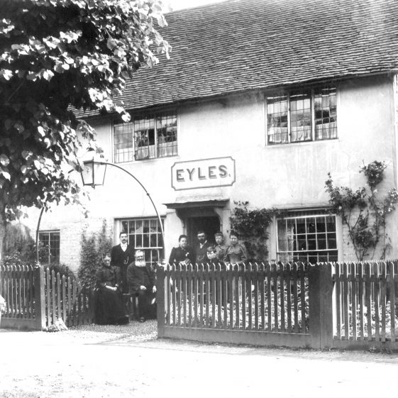 65 High Street - Tollgate - cottages, Eyles tailors -1880's | Cat no HC 163