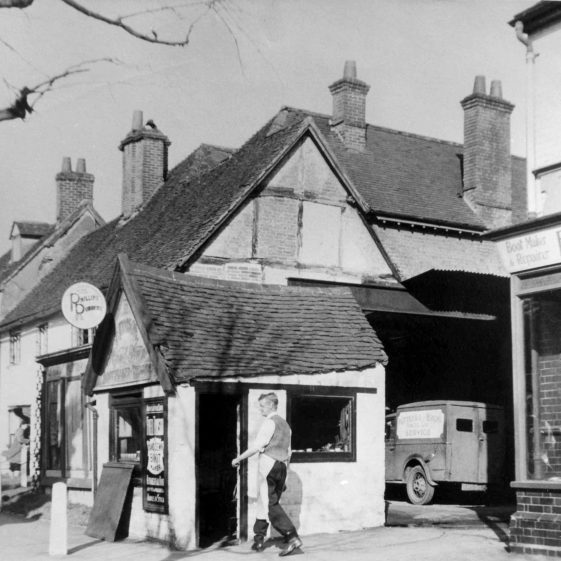 63/65 High Street, Putterill Bros garage , Fred Timpson Boot maker and repairer -1930's | Cat no HC 166