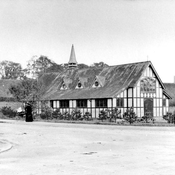 St John's Church - corner of Crabtree Lane and Southdown Road - 1890 | Cat no HC 170