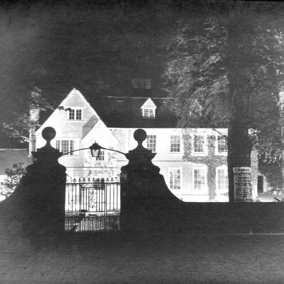 Harpenden Hall, floodlit for the Jubilee in 1935 | Cat no HC 190