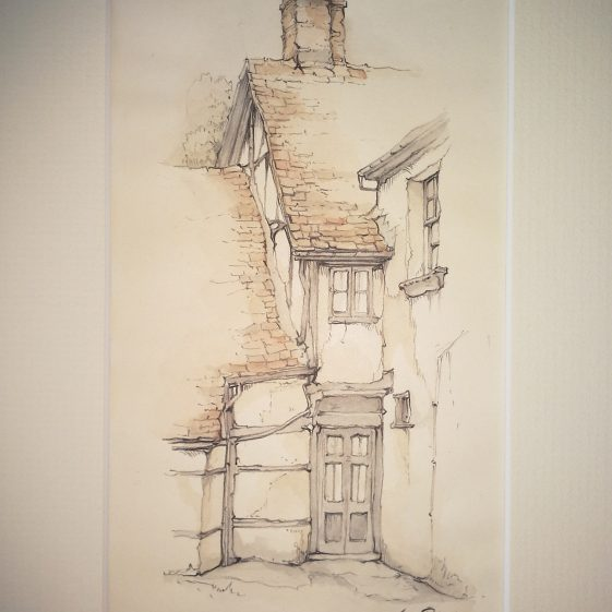 Harpenden (The Old House, Leyton Road) | Anton Pieck - Copyright of the Pieck family