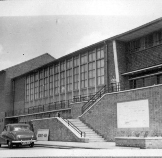 Hatfield Technical College, 1952   LHS archives, Herring album BF 52.2 D
