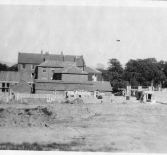 Congleton Home Office school, 1940   LHS archives, Herring album BF 52.2.C