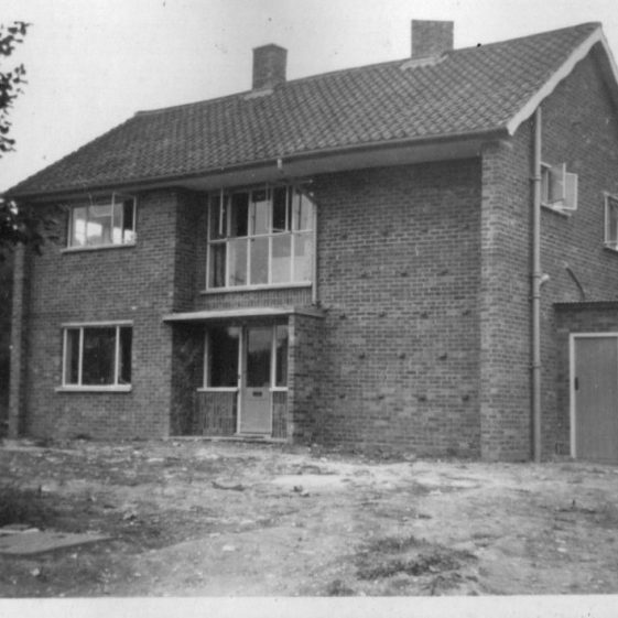 House in Orchard Avenue, 1950s?   LHS archives, Herring album BF 52.2 G