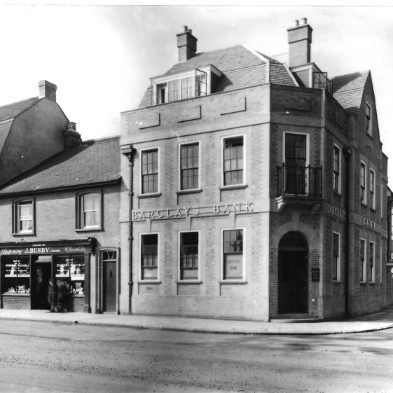 Barclays Bank in 1924 - rebuilt to design by Percival Blow | LHS archives - LHS Brandreth collection [01.2]