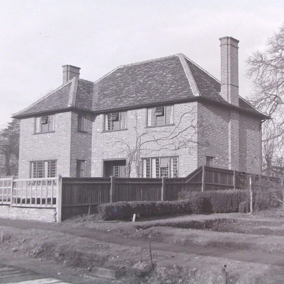 Jim Jarvis's photos of 'Jarvis houses' in the 1930s | Jim Jarvis - scanned from glass negative by J Marlow - JJ 022