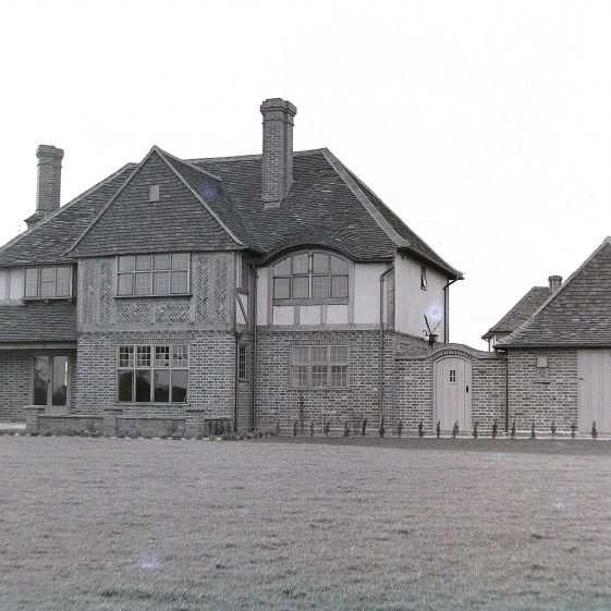 Jim Jarvis's photos of 'Jarvis houses' in the 1930s | Jim Jarvis - scanned from glass negative by J Marlow - JJ 023