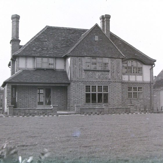 Jim Jarvis's photos of 'Jarvis houses' in the 1930s | Jim Jarvis - scanned from glass negative by J Marlow - JJ 024