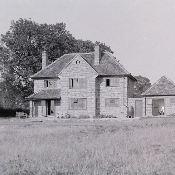 Jim Jarvis's photos of 'Jarvis houses' in the 1930s | Jim Jarvis - scanned from glass negative by J Marlow - JJ 041