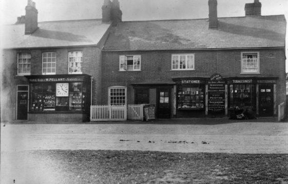 Shopping in Harpenden over a century ago.