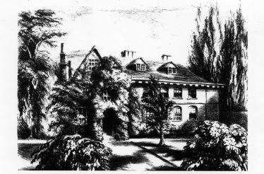 Harpenden Hall c1848